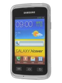 Samsung Galaxy Xcover S5690 Wave Case - Frosted Clear/Clear