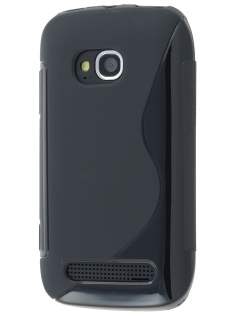 Nokia Lumia 710 Wave Case - Black Soft Cover