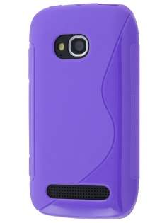 Nokia Lumia 710 Wave Case - Purple Soft Cover