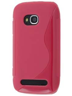 Nokia Lumia 710 Wave Case - Berry Soft Cover