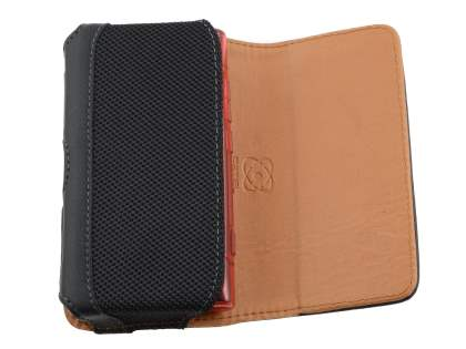 Nokia N9 Synthetic Leather Belt Pouch (Bumper Case Compatible)