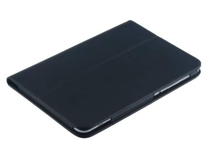 Samsung Galaxy Tab 8.9 4G Synthetic Leather Flip Case with Fold-Back Stand - Classic Black