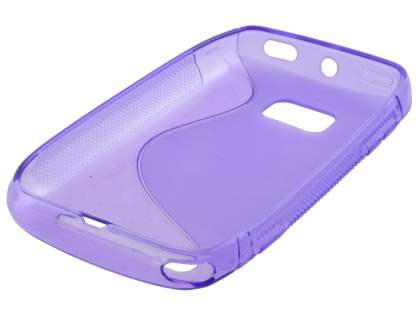 Nokia Lumia 710 Wave Case - Purple/Frosted Purple