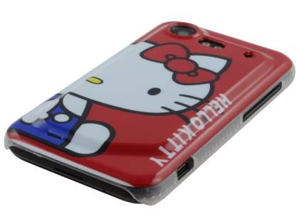 HTC Incredible S Hello Kitty Back Case - Red/White