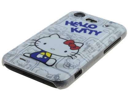 HTC Incredible S Hello Kitty Back Case - Blue/White