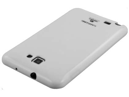 Mercury Glossy Gel Case for Samsung I9220 Galaxy Note - Pearl White