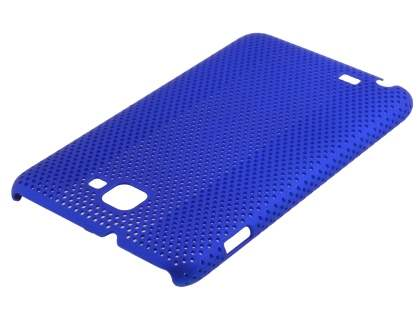 Samsung I9220 Galaxy Note Slim Mesh Case - Ocean Blue