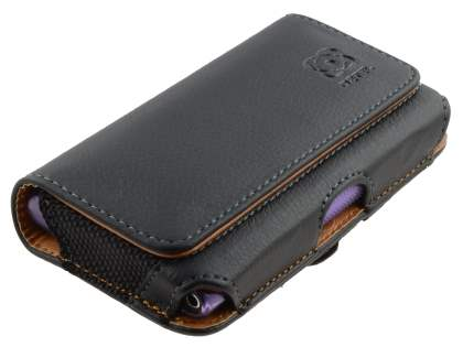 Nokia Lumia 800 Synthetic Leather Belt Pouch (Bumper Case Compatible)