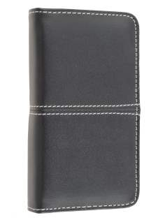 iPhone 4/ 4S Wallet Case - Black/Baby Pink