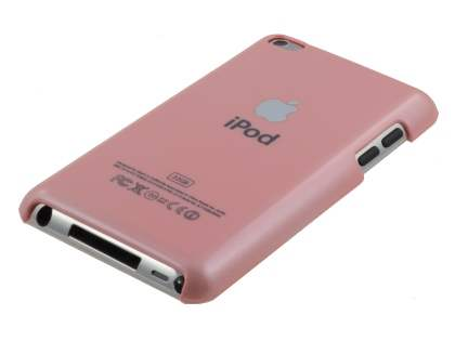 iPod Touch 4 Glossy Back Case - Coral