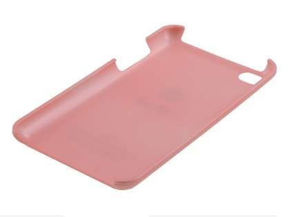 Glossy Back Case for iPod Touch 4 - Coral