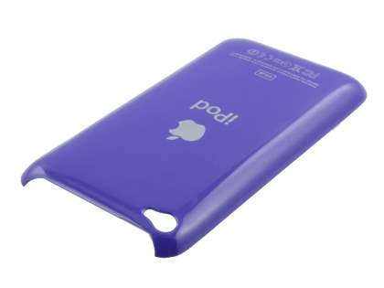 Glossy Back Case for iPod Touch 4 - Glossy Purple