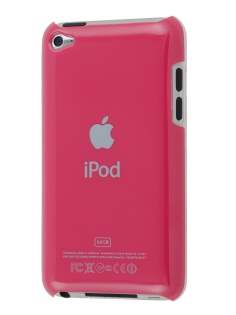 Glossy Back Case for iPod Touch 4 - Ruby Red