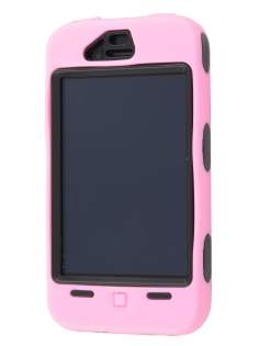Defender Case for iPhone 4/4S - Baby Pink/Black