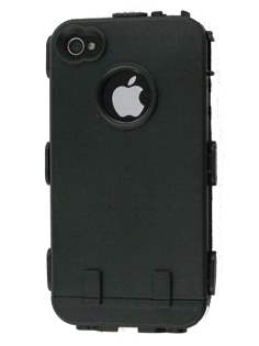 iPhone 4 /4S Defender Case - White/Black