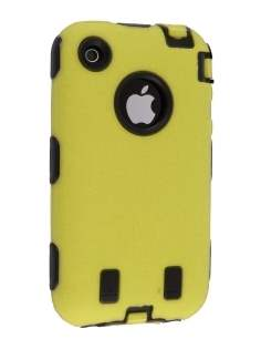 Defender Case for iPhone 3G/S - Yellow Impact Case