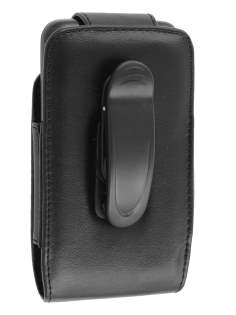 Samsung I9210T Galaxy S II 4G Synthetic Leather Belt Pouch - Classic Black