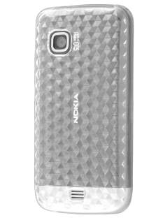 Nokia C5-03 TPU Gel Case - Diamond Clear Soft Cover