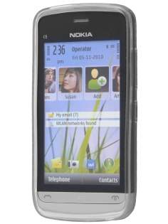 Nokia C5-03 TPU Gel Case - Diamond Clear