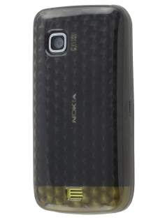 Nokia C5-03 TPU Gel Case - Diamond Grey Soft Cover