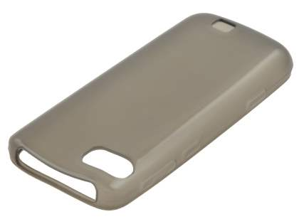 Nokia C3-01 TPU Gel Case - Frosted Grey