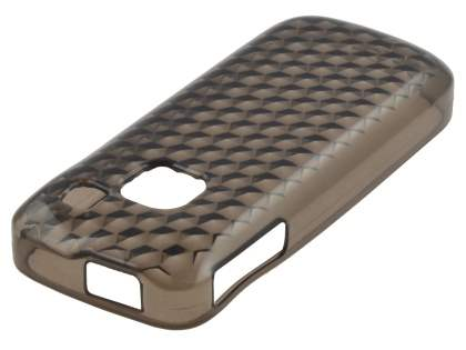 Nokia C1-01 TPU Gel Case - Diamond Grey