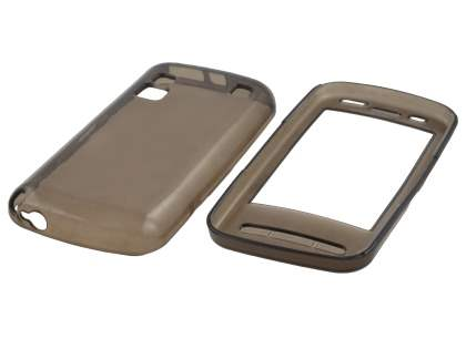Nokia C6 TPU Gel Case - Grey