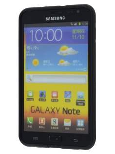 COCASES Dual-Design Case plus Screen Protector for Samsung Galaxy Note - Black/Grey
