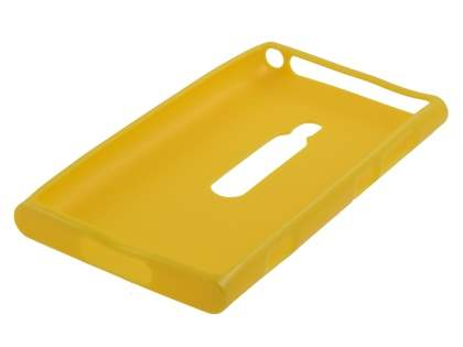 Glossy Gel Case for Nokia Lumia 800 - Canary Yellow
