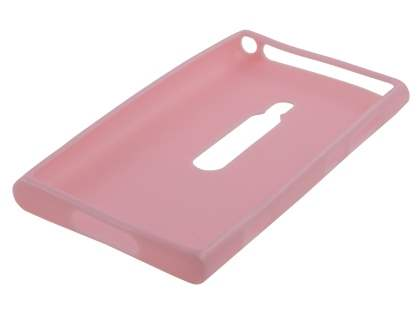 Glossy Gel Case for Nokia Lumia 800 - Baby Pink