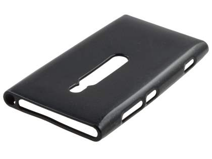 Glossy Gel Case for Nokia Lumia 800 - Black