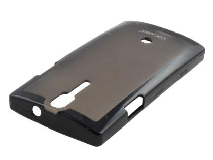 COCASES Dual-Design Case for Sony Xperia S LT26i - Black/Grey
