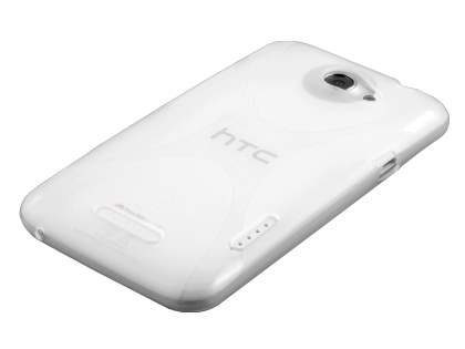 HTC One X / XL / X+ X-Case - Frosted Clear/Clear