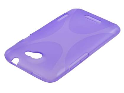 HTC One X / XL / X+ X-Case - Frosted Purple/Purple