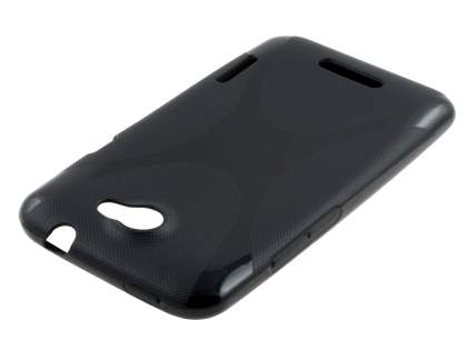 HTC One X / XL / X+ X-Case - Frosted Black/Black