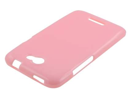 Glossy Gel Case for HTC One X / XL / X+ - Baby Pink