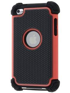 iPod Touch 4 Impact Case - Red/Classic Black