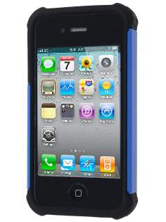 iPhone 4S/4 Impact Case - Blue/Classic Black