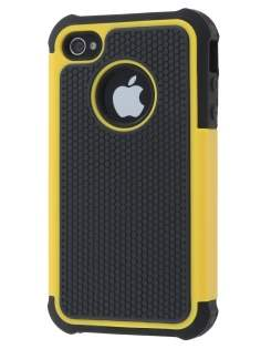 iPhone 4S/4 Impact Case - Yellow/Classic Black Impact Case
