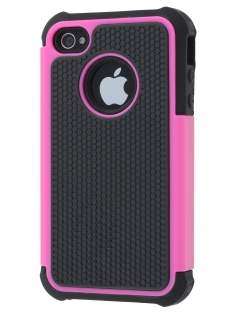 iPhone 4S/4 Impact Case - Pink/Classic Black Impact Case
