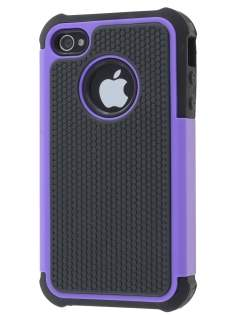iPhone 4S/4 Impact Case - Purple/Classic Black Impact Case