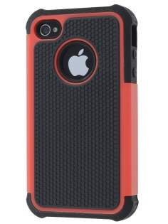 iPhone 4S/4 Impact Case - Red/Classic Black Impact Case