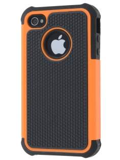 iPhone 4S/4 Impact Case - Orange/Classic Black Impact Case