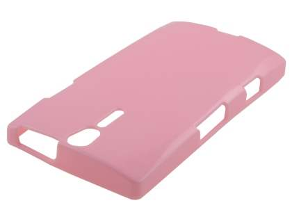 Glossy Gel Case for Sony Xperia S LT26i - Baby Pink