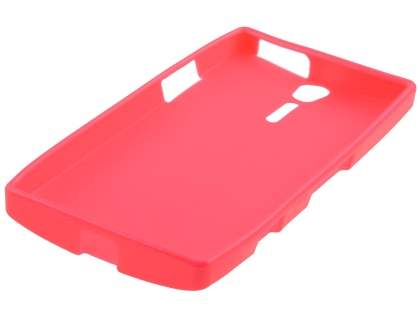 Glossy Gel Case for Sony Xperia S LT26i - Hot Pink