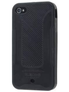 COCASES Dual-Design Case for iPhone 4S/4 - Black Dual-Design Case