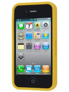 COCASES Dual-Design Case for iPhone 4S/4 - Yellow/Clear