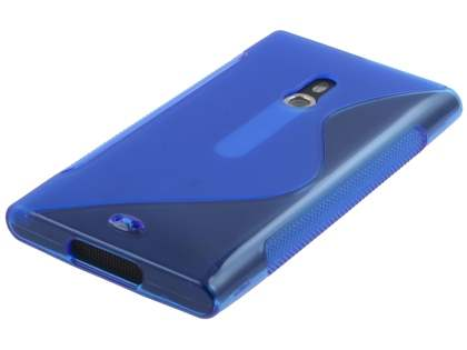 Nokia Lumia 800 Wave Case - Frosted Blue/Blue