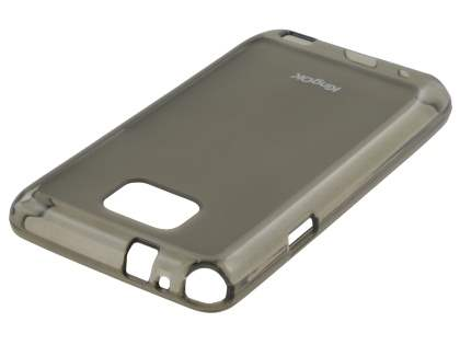 KingOK Samsung I9100 Galaxy S2 Frosted TPU Case plus Screen Protector - Frosted Grey