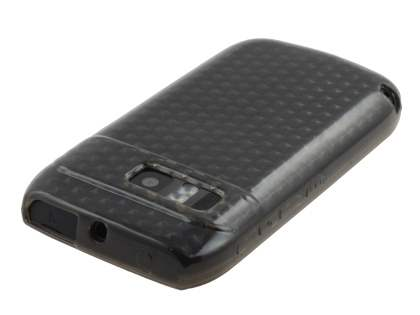 Nokia E6 TPU Gel Case - Diamond Grey